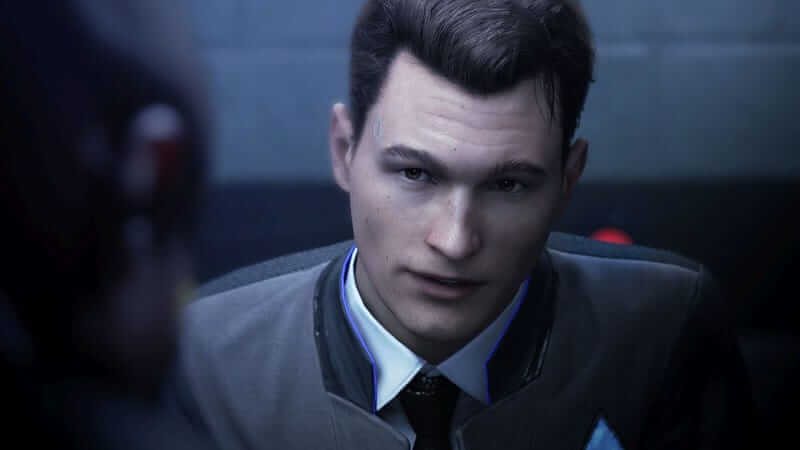 Connor in cyberlife