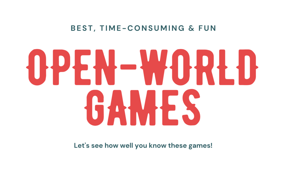 top open world games on pc