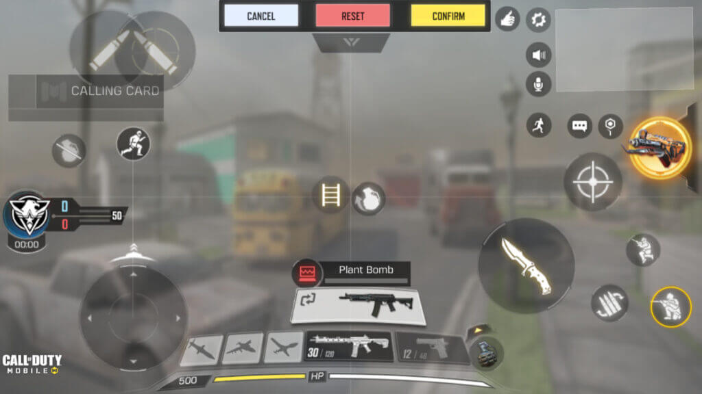 three finger claw layout in call of duty mobile