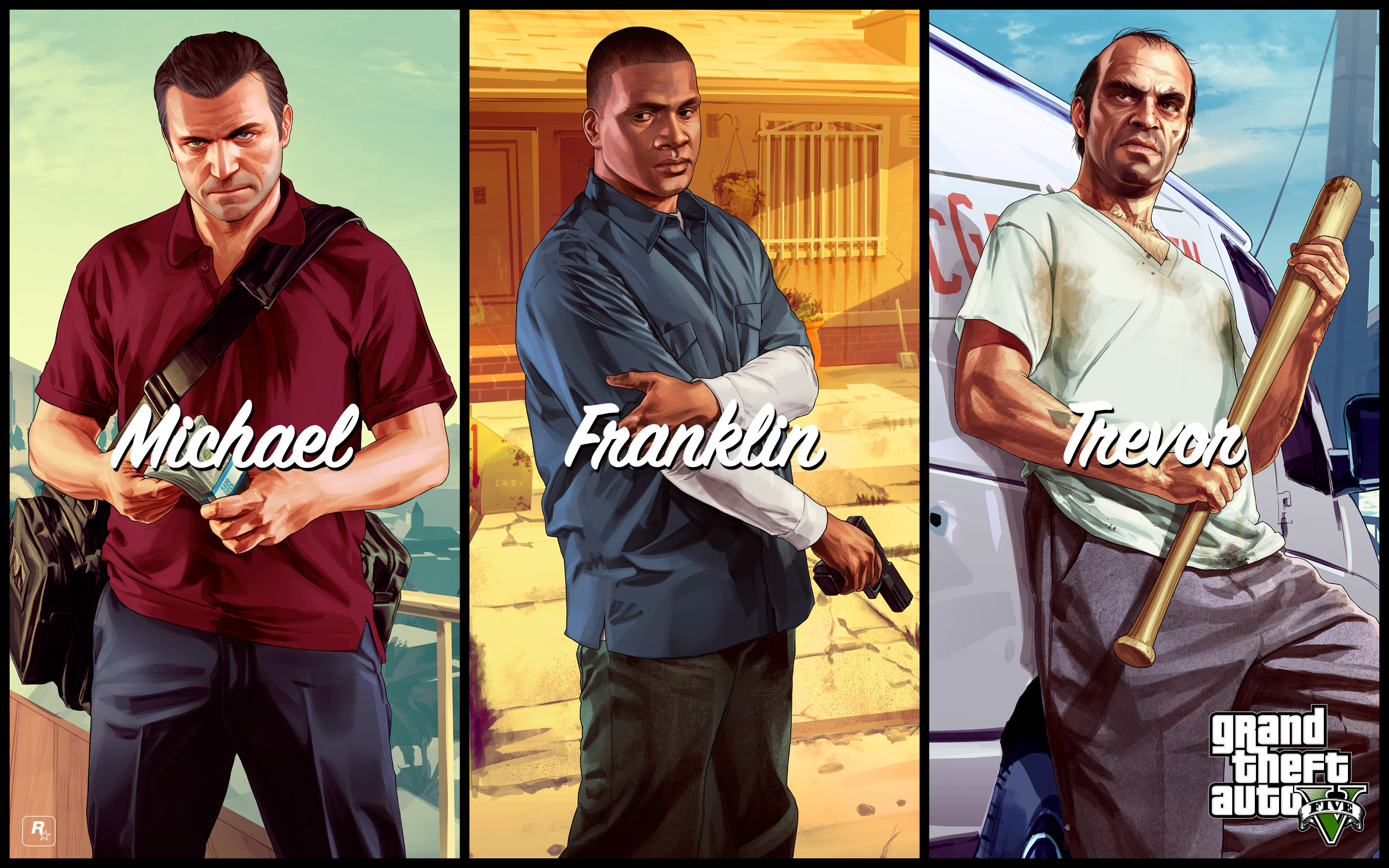 How to switch characters in GTA V