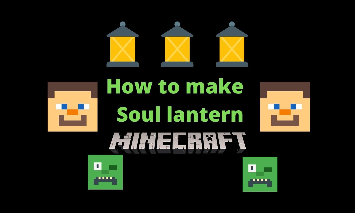 How to make a soul lantern in minecraft