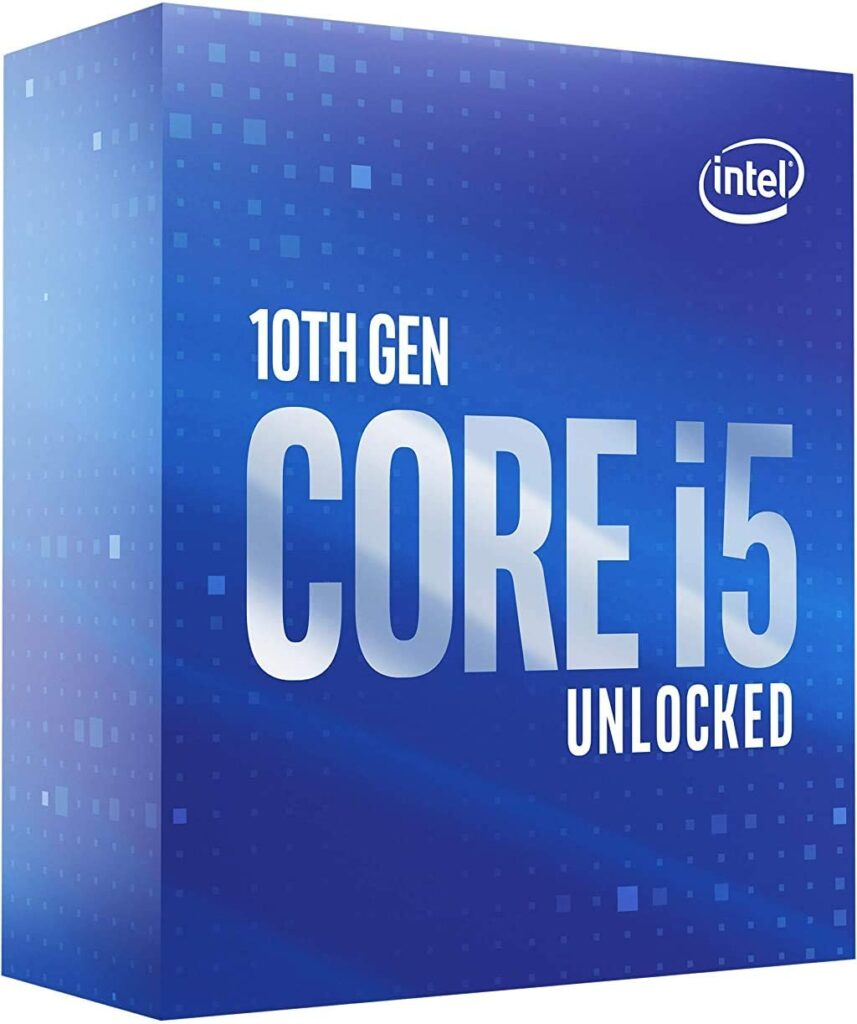 Intel Core i5 10600K - Best CPUs for RX 580